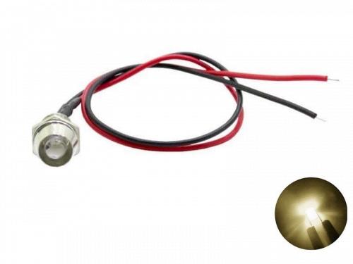 LED inbouw spot warm wit 3000K 12 volt - 24 volt - interieur verlichting - Truckstyling artikel - EAN: 6090545896866