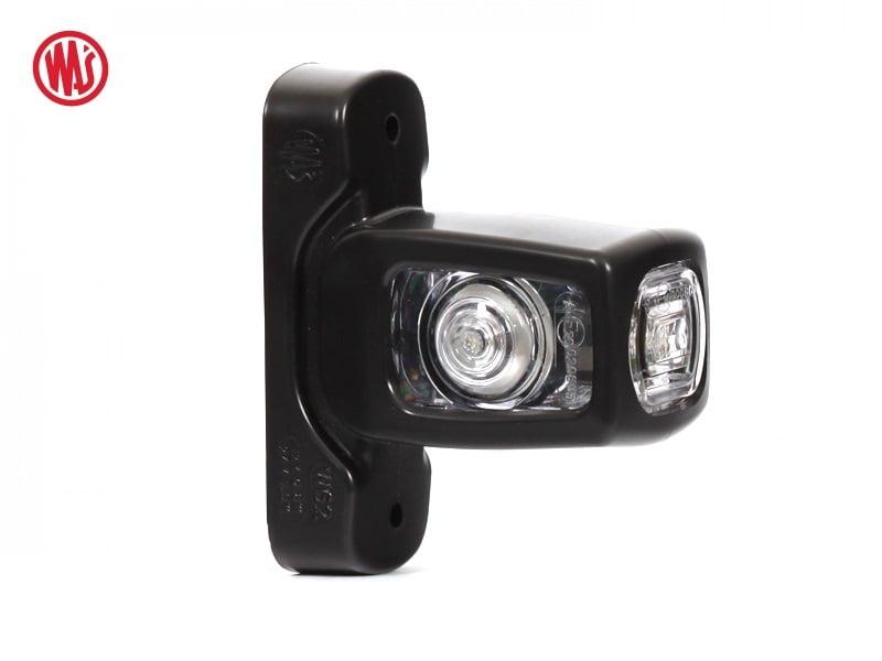 WAS LED breedtelamp kort - LED breedtelamp voor 12 volt en 24 volt gebruik