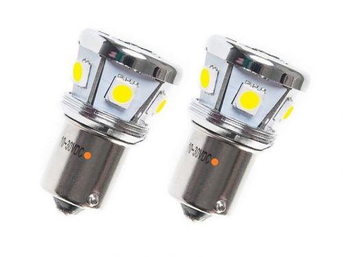 BA15S LED Lampe orange 12 Volt - 24 Volt für LKW, Transporter, PKW, Anhänger, Anhänger und mehr - EAN: 6090454587534