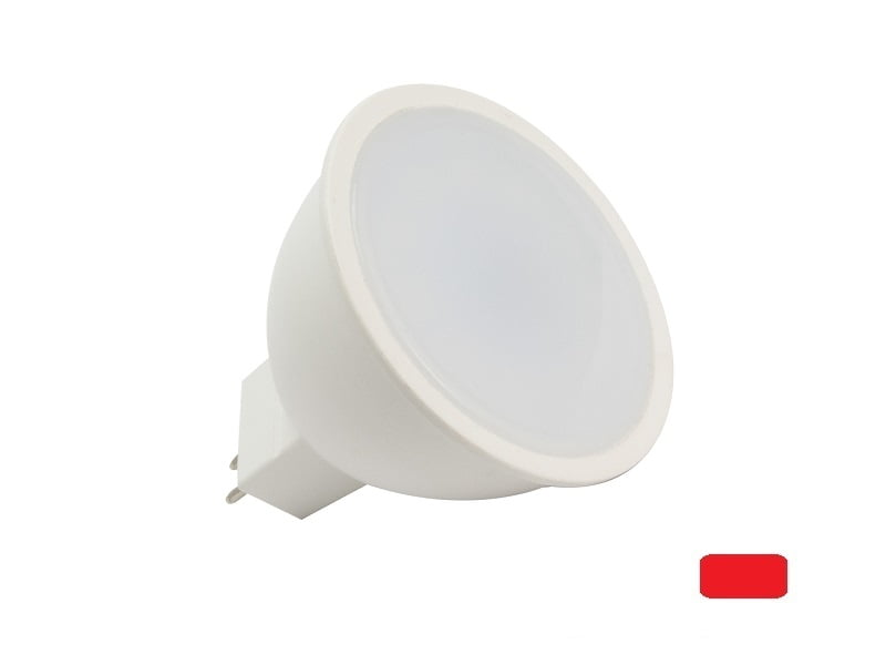 LED interior spot red 10/30 volt - red LED spot interior lighting truck - camper - caravan - boat
