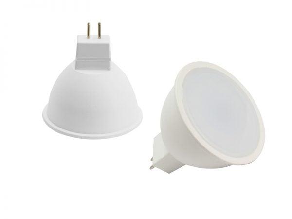 LED GU5.3 Spot 10/30 volt ROOD - interieur verlichting