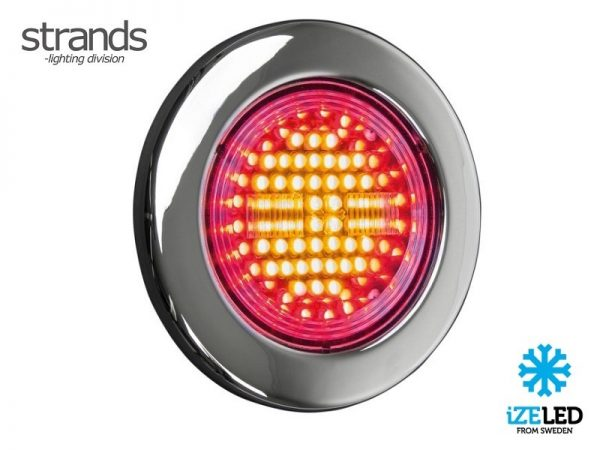Strands IZE LED dynamic LED rear light 12 - 24 volt - LEFT - trailer - truck - camper - caravan