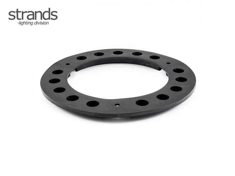 Strands IZE LED rubber gasket round - for mounting round LED taillights
