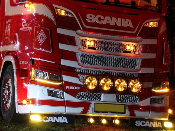 Scania LED module dagrijverlichting oranje - SCANIA NEXT GEN LED