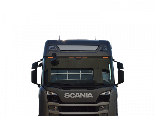 Scania Next Gen top lamp - lighting for the sun visor at the front window