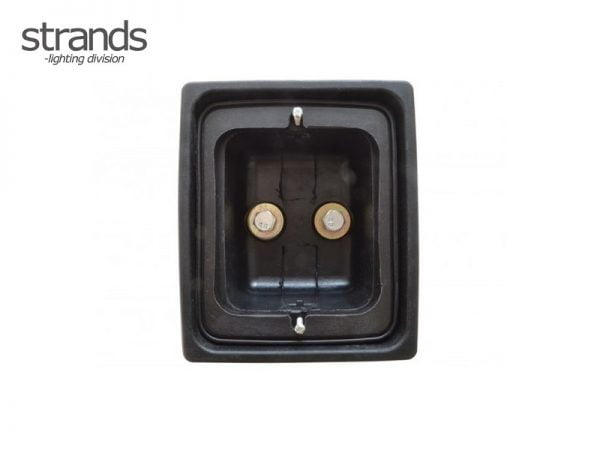 Strands rubber housing only for LED block lamps - IZE LED rear lights - Danish rear bumper mounting