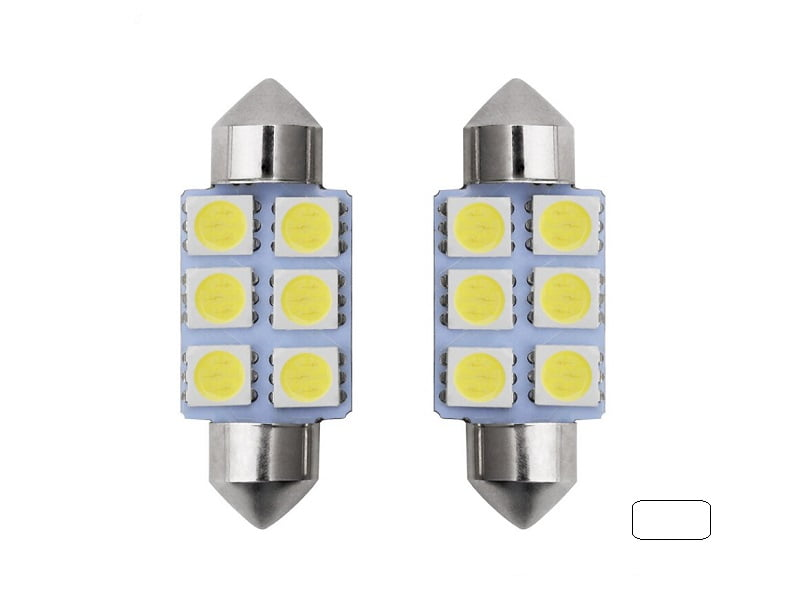 Festoon 6 LED buislamp 42mm wit 24 Volt - vrachtwagen - interieurverlichting