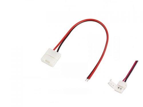 LED strip connector voor LED strip type 3528 - aansluiten LED strip vrachtwagen, auto, boot, camper of caravan