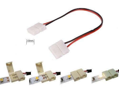LED strip koppelstuk voor in LED strip in hoek te verwerken. Voor type 5050 LED strip