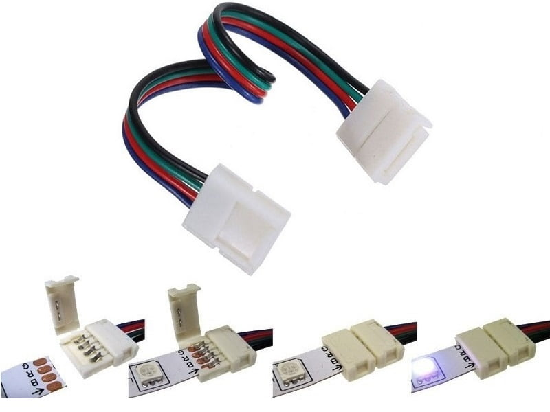 RGB LED strip koppelstuk - sluit uw RGB LED strip eenvoudig opnieuw aan