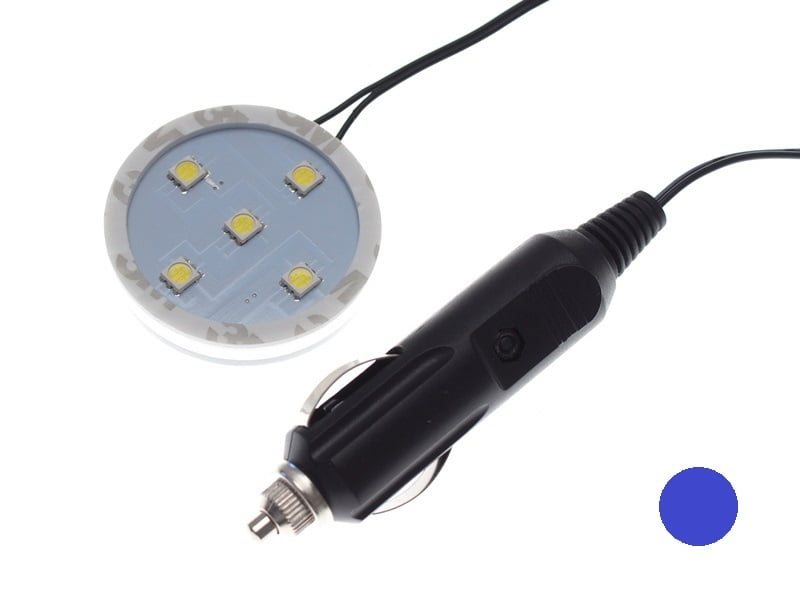 Poppy Grace Mate LED ring BLUE for 12 volts and 24 volts