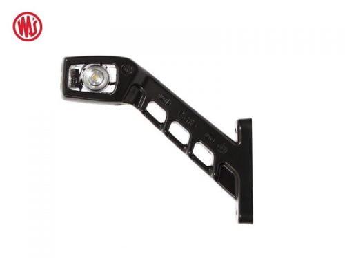 LED breedtelamp haaks met helder glas - WAS W48 LED breedtelamp