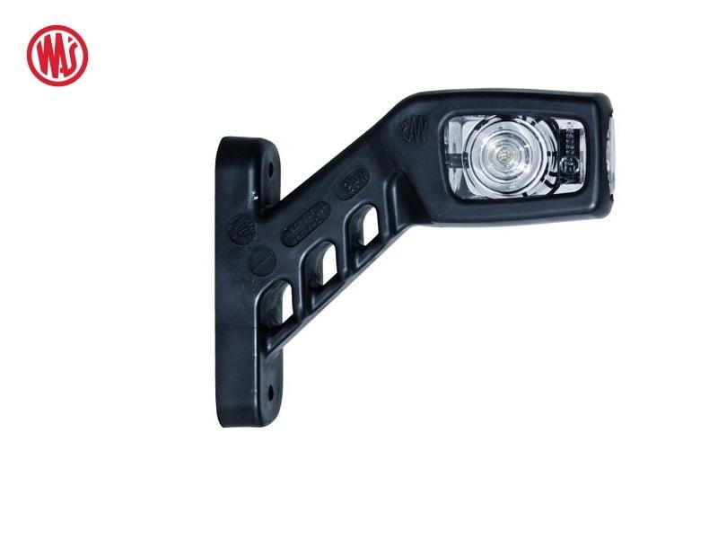 LED breedtelamp haaks met helder glas - WAS W49 - LED breedtelamp 12 en 24 volt