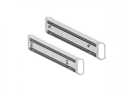 Bevestigingsmateriaal voorzijde cabine - passend voor illumiLED en Nedking lichtbak