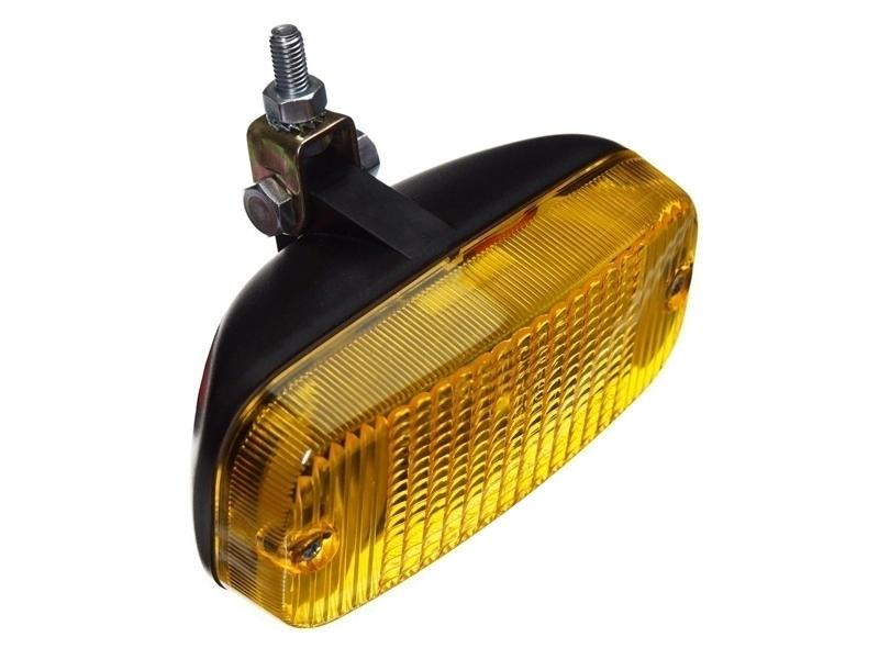 Talmu dagrijlamp met geel lamp glas - te monteren op uw auto, vrachtwagen, camper, tractor en meer - EAN: 6416386134316