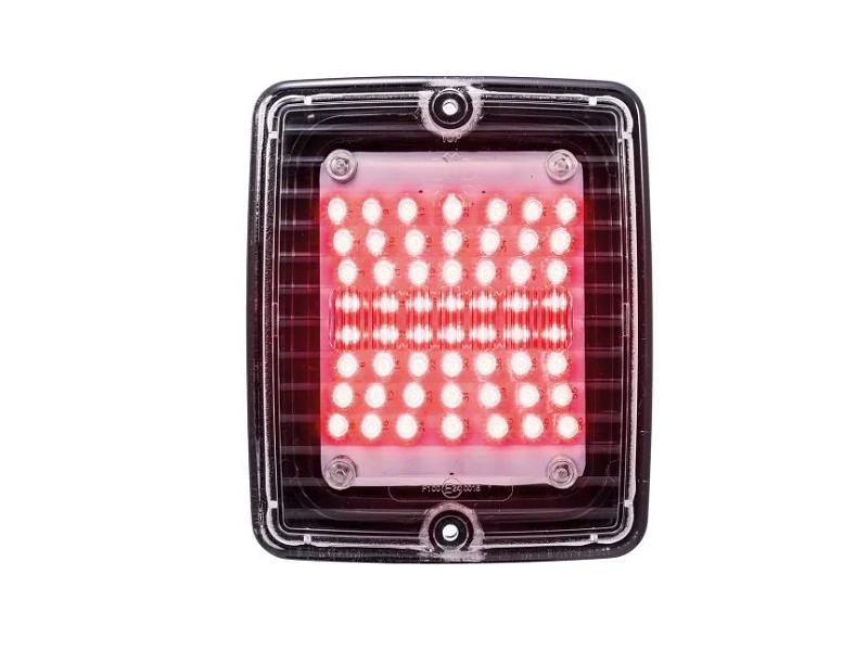 Strands IZE LED - LED mistachterlicht met helder glas - LED bloklamp - EAN: 7323030001322