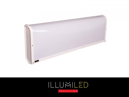 LED lichtbak illumiLED 140x30x8 - lichtbak voor vrachtwagen 24 volt