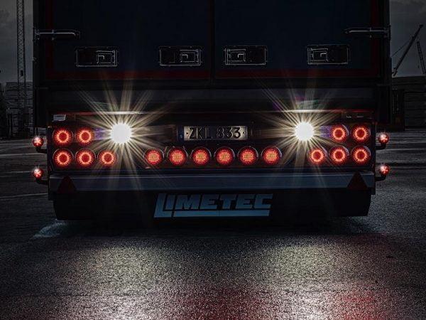 Strands IZE LED dynamisch LED achterlicht rechts - voor 12 en 24 volt gebruik