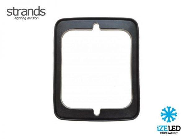 Strands IZE LED rubber pakking voor bloklamp - vlakke montage