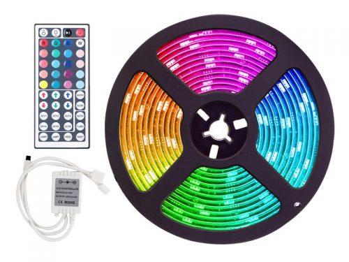 RGB LED strip 12 volt met silicone laag - voor auto, aanhanger, camper, boot en meer