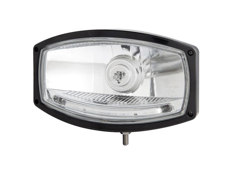 Nedking verstraler 1600 met zwarte behuizing - incl. H1 grootlicht - enkel geschikt voor 24 volt gebruik EAN: 7448156525528