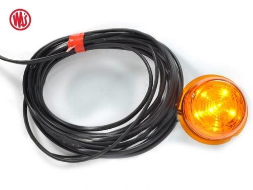 WAŚ LED unit oranje - geschikt voor Deense breedtelamp - Strands Viking model - EAN: 5901323106637